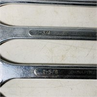 """6 Pittsburgh 1 3/8"""" - 2 """" Wrenches, 12 pt,"""