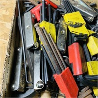 Box full of Allen Wrenches, Sets, Tools etc