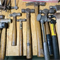 Lot of Various Hammers