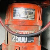 Homelite 2500 Watt Generator, 5 hp B&S