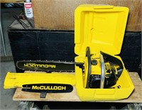 McCulloch Mac 110 Chainsaw, looks almost new,