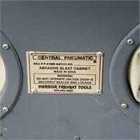 MAC Air Sandblast Gun, Central Pneumatic Cabinet