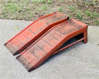 Set of Metal Car Ramps