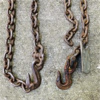 6 Heavy Duty Chains, Tags day Weight and Length,