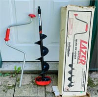 Lazer by Strikemaster Ice Auger, Looks to be NEW