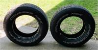 2 Mastercraft Courser HSX Tires, 265/70R17