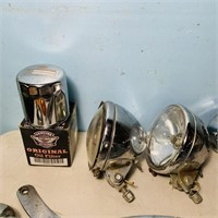 Lot of Chrome Motorcycle Parts