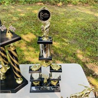 6 Motorcycle Trophies