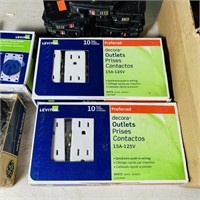 Electrical Lot, NEW Box of Square D Breakers