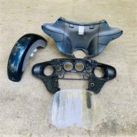 Motorcycle Parts,  Look to all go together