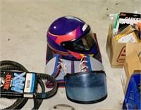 Large Snowmobile Lot, SkiDoo Helmet,