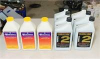 3 Full Rotax Injector Oil, 5 full Yamaha 2