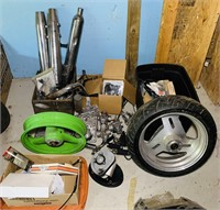 Motorcycle Lot, Lots of good Parts