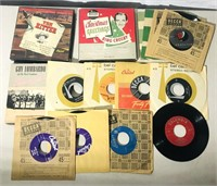 12 45s RPM Records, 3 45s RPM Record sets