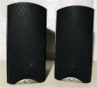 "KLIPSCH- Bookshelf Speakers 8x11x15"""