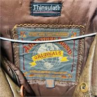 Adventure Bound Brown Leather Jacket, XL