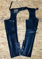 Hudson Leather Chaps, size XS
