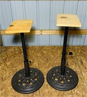 2 Cast Iron Patio Umbrella Bases, or Stands
