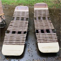 5 Vintage Lawn Chairs