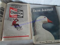 1950'S FARM MAGAZINES