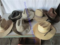 MEN'S HATS-STRAW & FELT