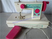 MCCALLS TOY SEWING MACHINE & DOLL