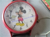 MICKEY MOUSE CLOCK & POSTER