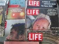 1950'S, 1960'S LIFE & LOOK MAGAZINES
