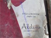 MONTGOMERY WARDS, &  ALDEN'S CATALOGS
