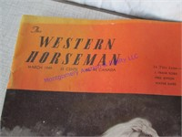 1949 WESTERN HORSEMAN W/ ROY ROGERS
