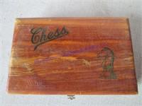 CHESS SET W/CASE