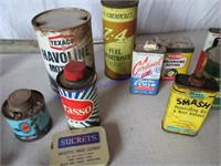 TINS-OLD CANS