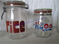 CANISTERS JARS