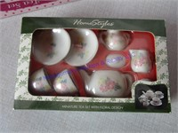 MINATURE  TEA SETS, IN BOX