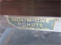 "HOL""N ONE DONUTS DISPLAY CASE"