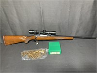 RUGER M77 257 Roberts Rifle w/ RBCS Dies/brass