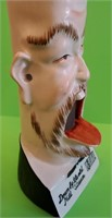 D - VINTAGE SMOKING HEAD SINGING ASHTRAY