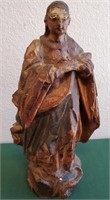 ANTIQUE POLYCHROM SANTO - LATE 1700'S EARLY 1800'S