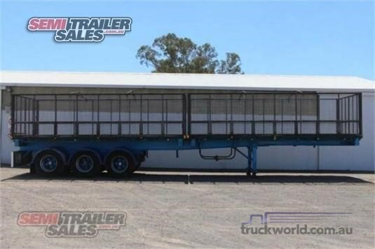 2007 Johnston Truck Bodies Flat Top Trailer - Trailers for Sale