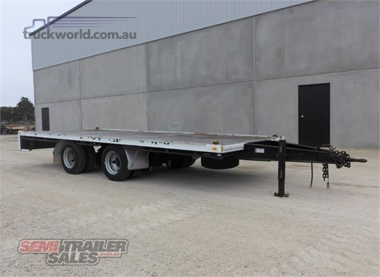 2009 Rebound Flat Top Trailer - Trailers for Sale