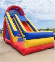 20' t x  24' L x  13' w Inflatable Rainbow Slide