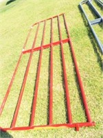 12' gate ( Red) bad paint