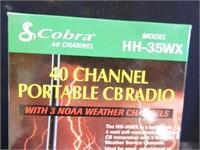 Cobra 40 Channel Portable CB Radio