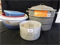 21 Quart Canner w/Jar Rack & Lid