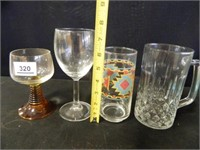 Ice Cream Glasses; Drinking Glasses