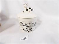 Cow Crock; in original box