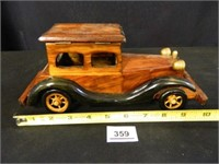 Wooden Car; Planter