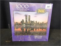 New York by Night 1000 Piece Puzzle