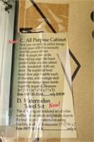 All Purpose White Wooden Cabinet