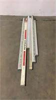 (Qty 6) Survey Sticks
